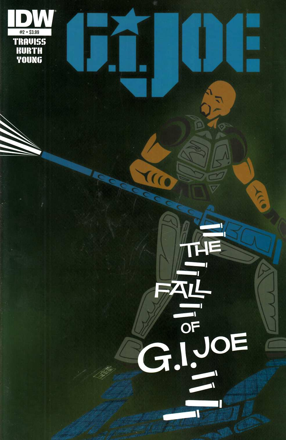 GI Joe (2014) #2 Near Mint (9.4) [IDW Comic]_THUMBNAIL