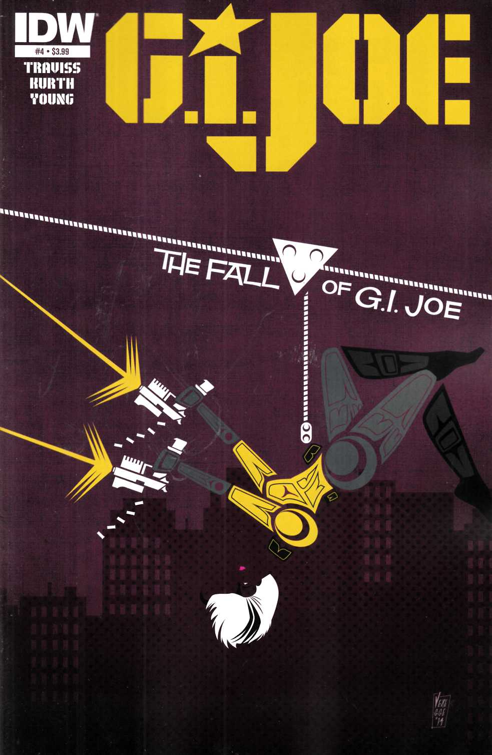 GI Joe (2014) #4 Near Mint (9.4) [IDW Comic]_THUMBNAIL
