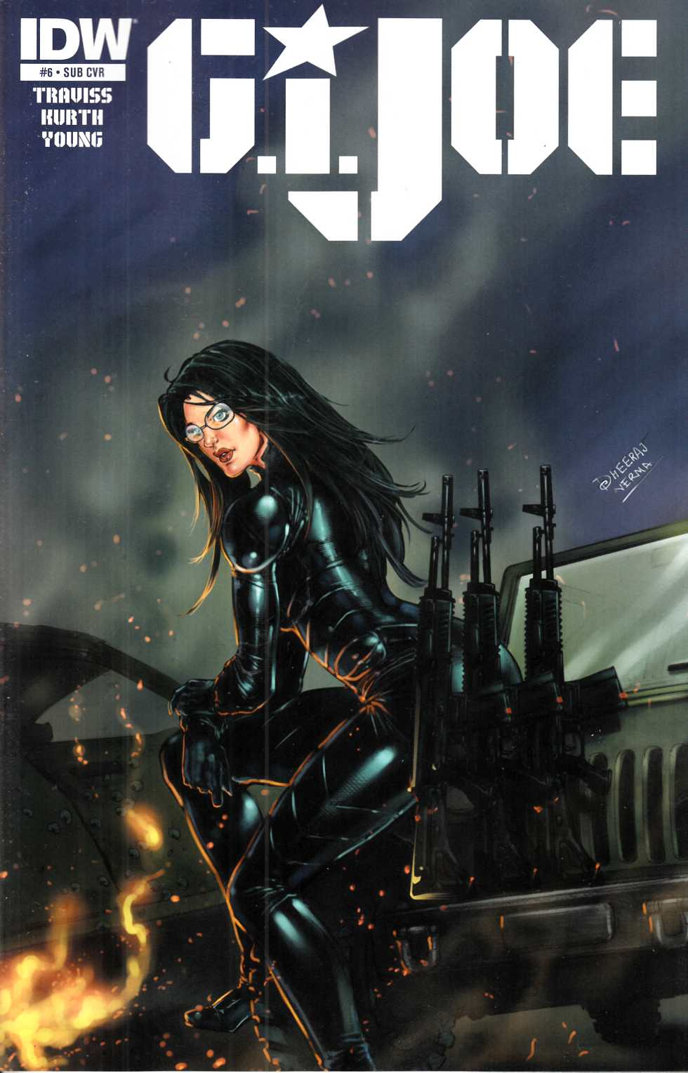 GI Joe (2014) #6 Subscription Cover [IDW Comic]_THUMBNAIL
