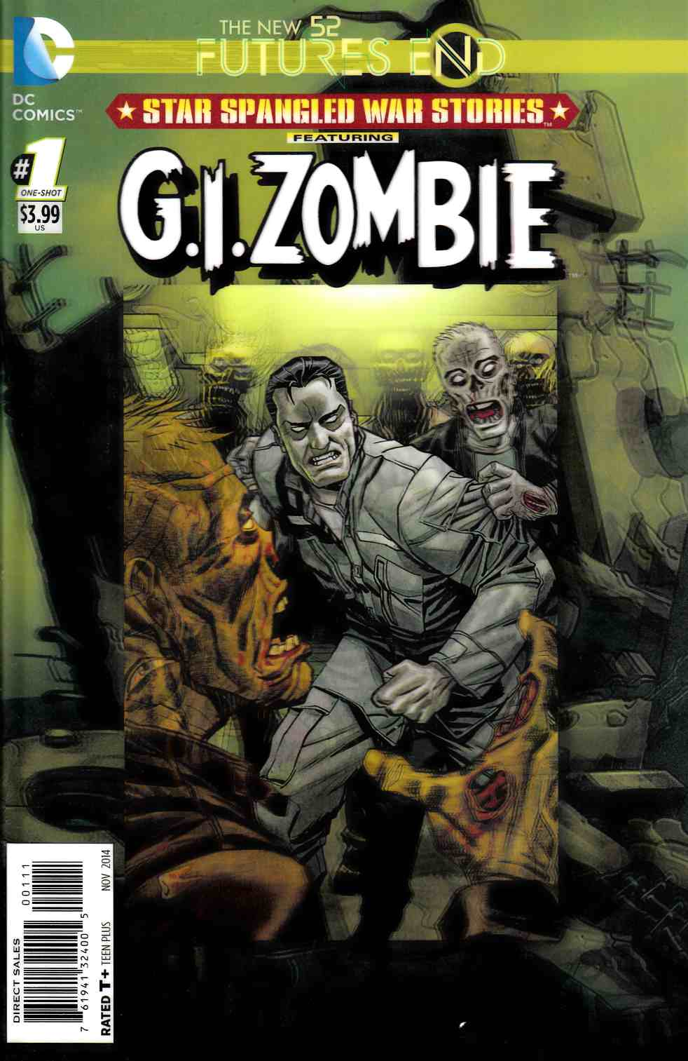 Star Spangled War Stories GI Zombie Futures End #1 3D Edition [DC Comic]_THUMBNAIL