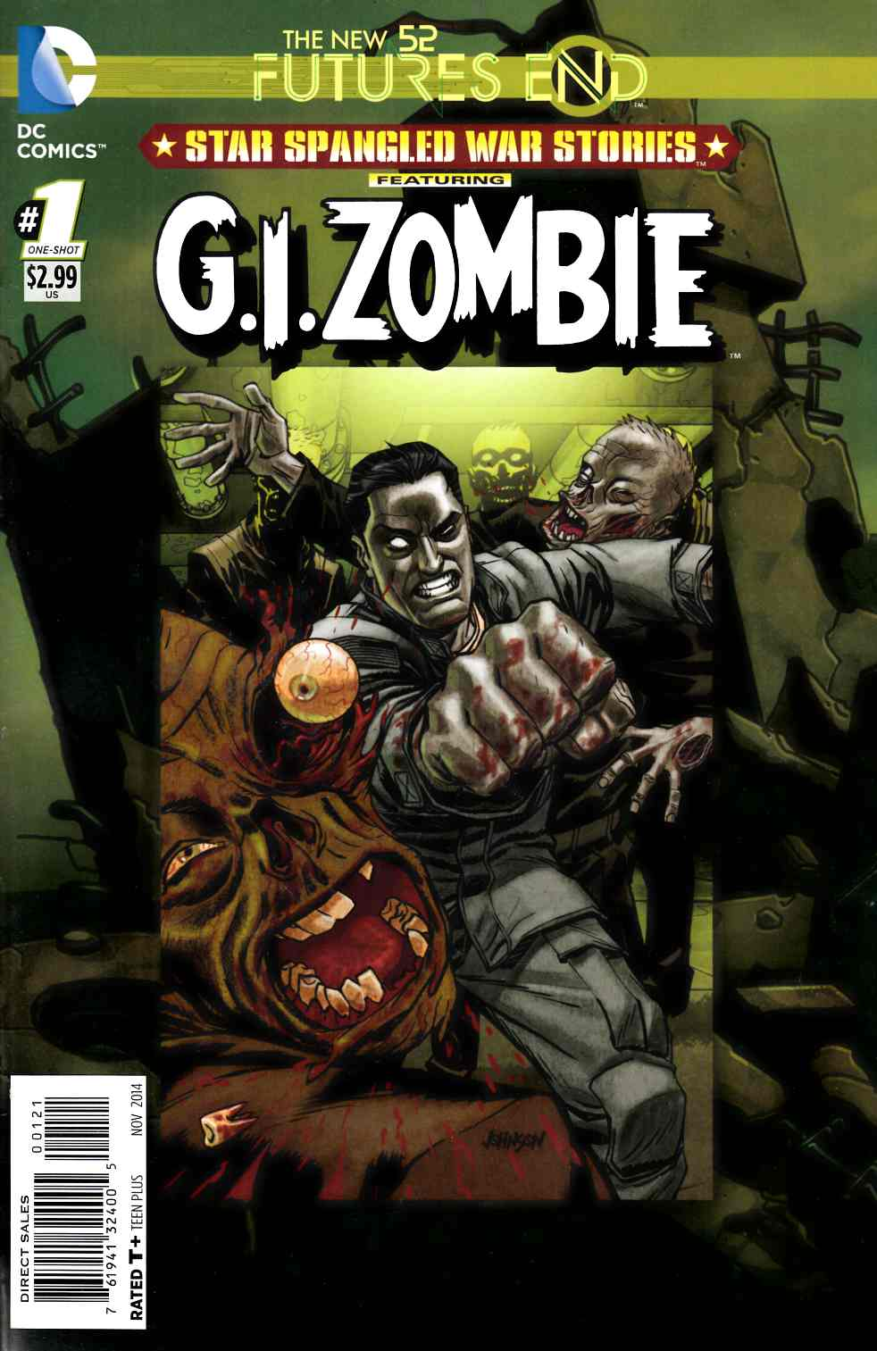 Star Spangled War Stories GI Zombie Futures End #1 Standard Edition [DC Comic]_THUMBNAIL