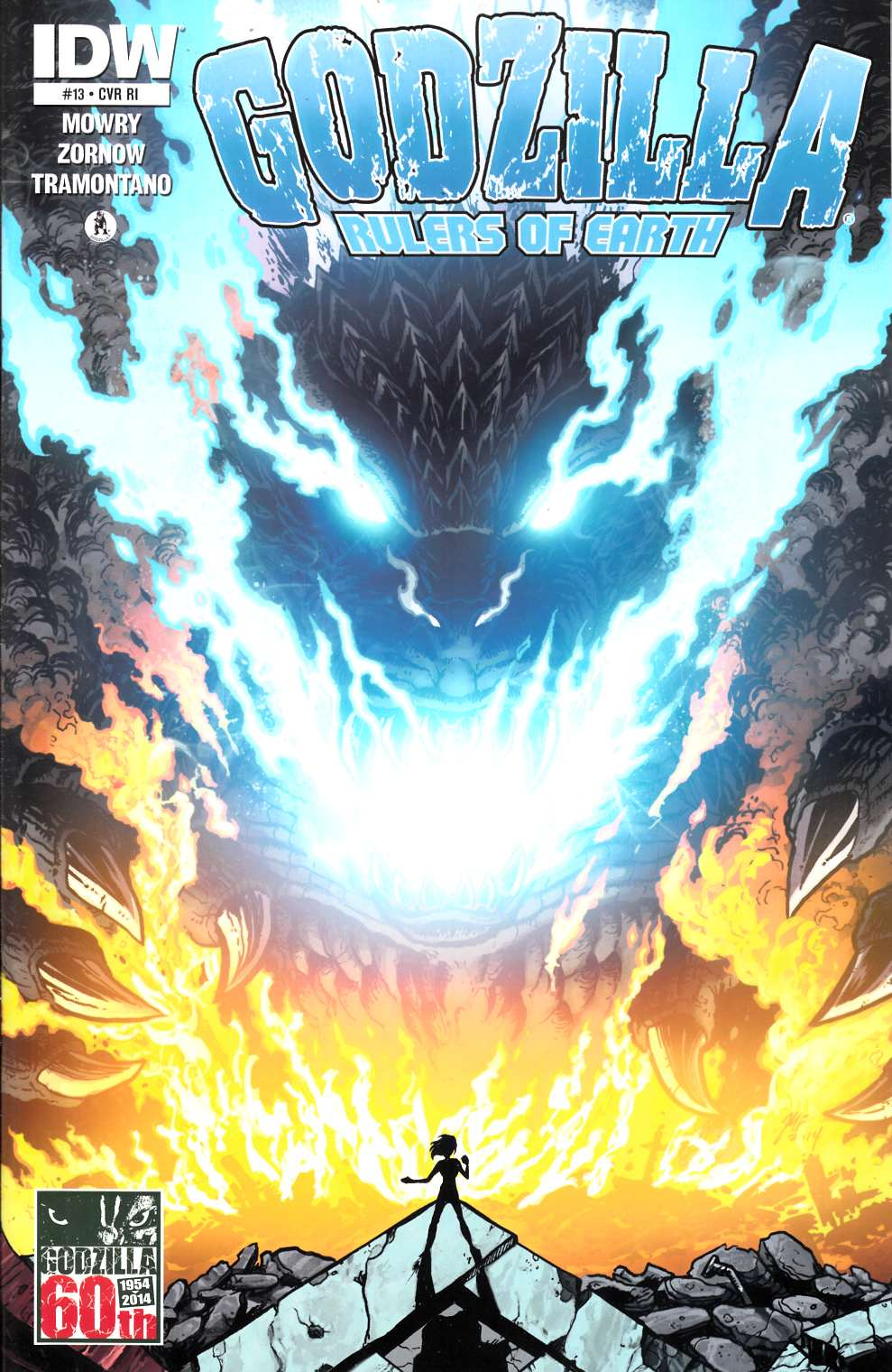 Godzilla Rulers of the Earth #13 Cover RI [Comic]