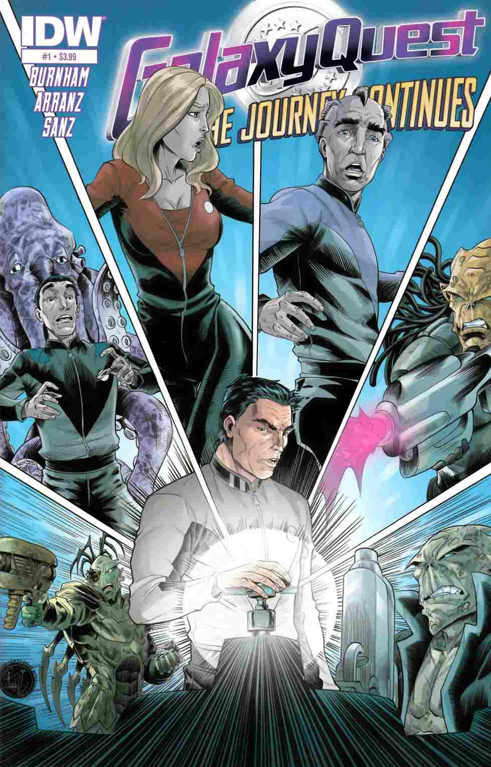 Galaxy Quest Journey Continues #1 [IDW Comic] THUMBNAIL