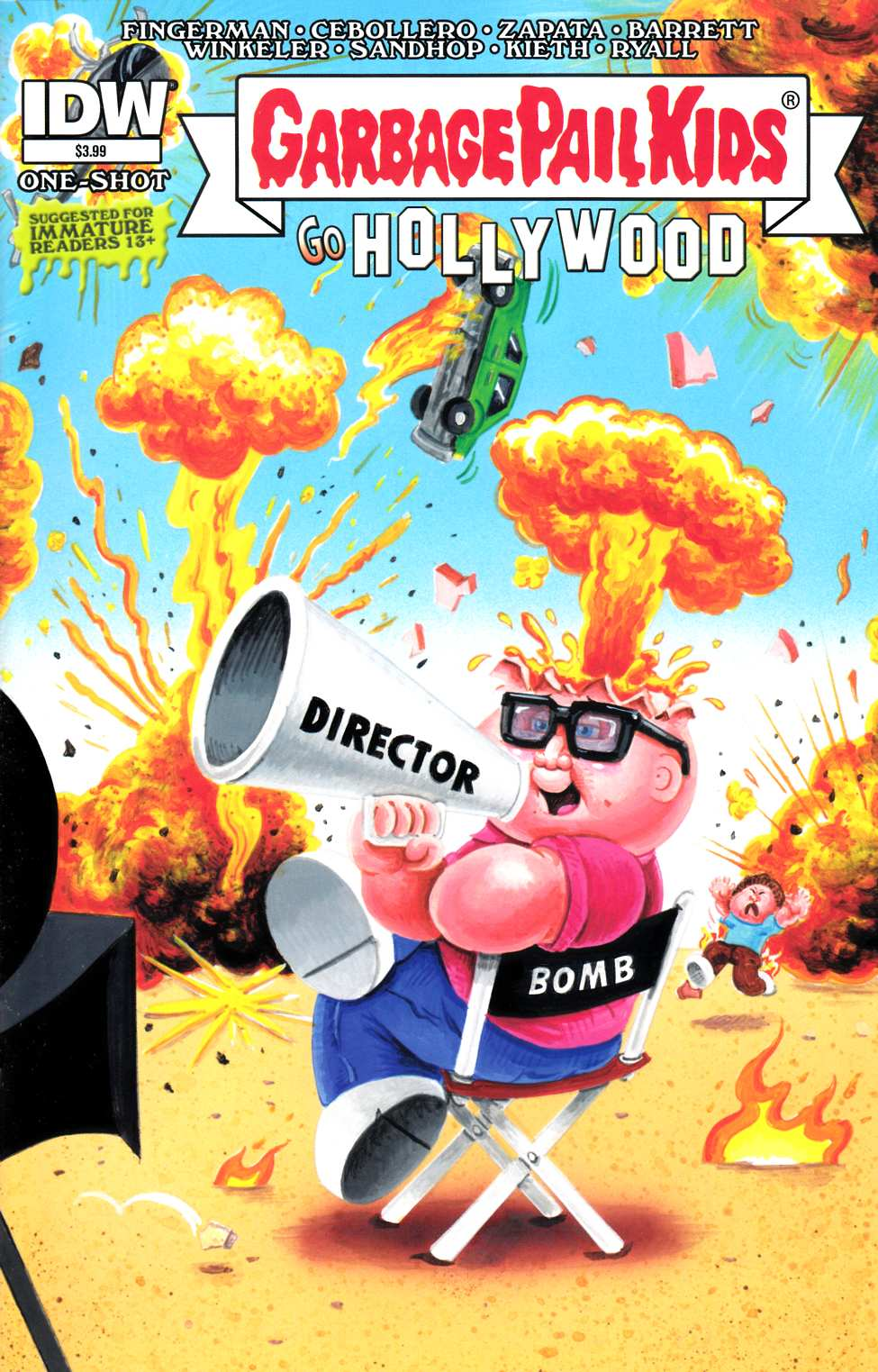 Garbage Pail Kids Go Hollywood (One Shot) [IDW Comic]