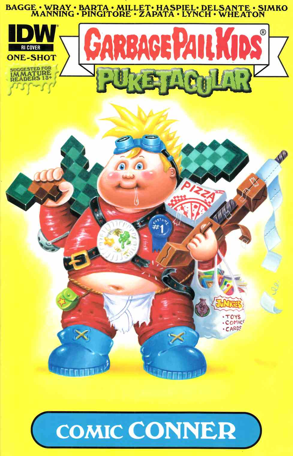 Garbage Pail Kids Comic Book Puketacular #1 Cover RI [IDW Comic]