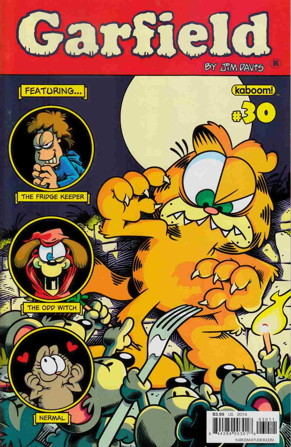 Garfield #30 [Boom Comic] THUMBNAIL