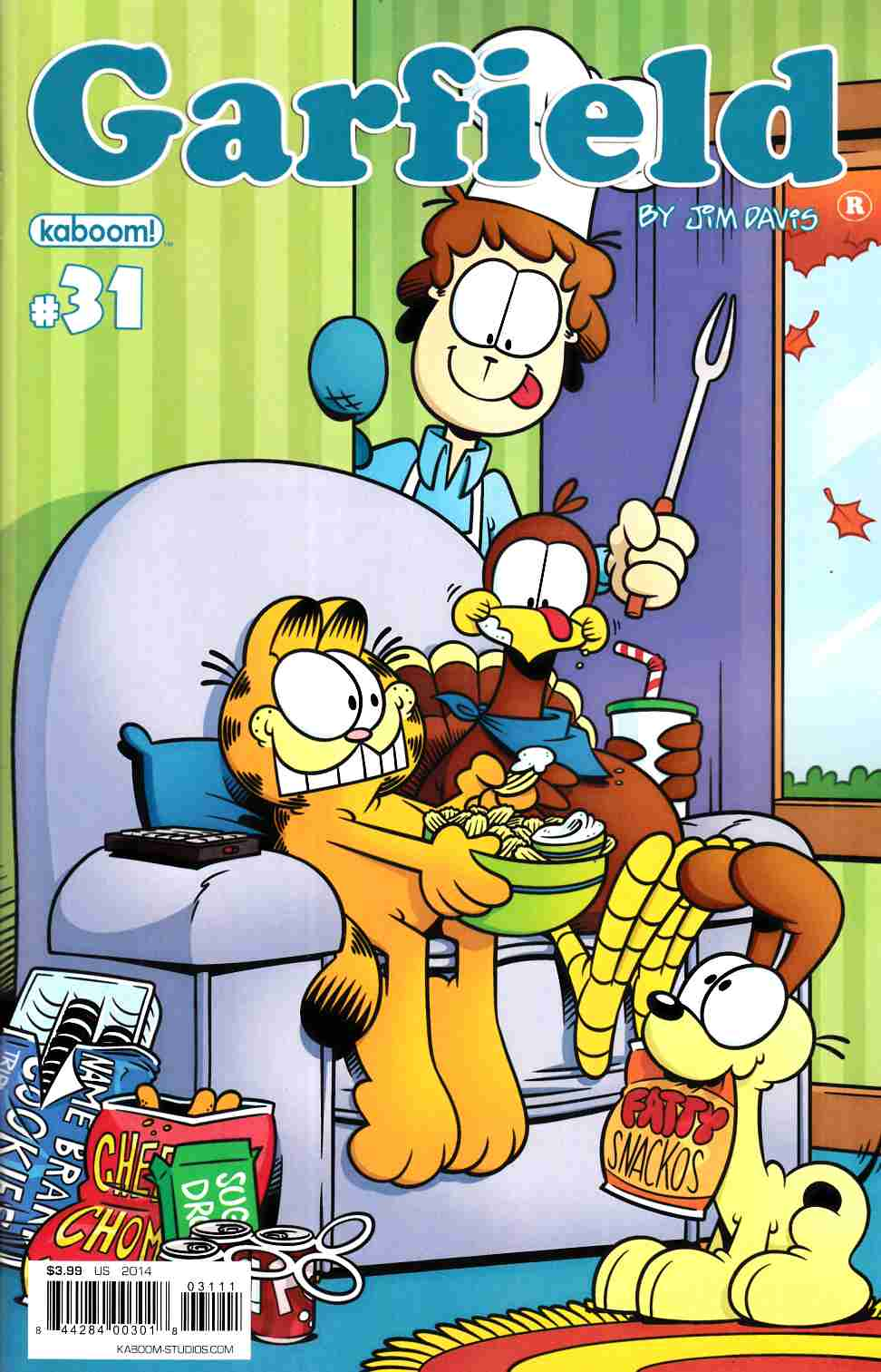 Garfield #31 [Boom Comic] LARGE