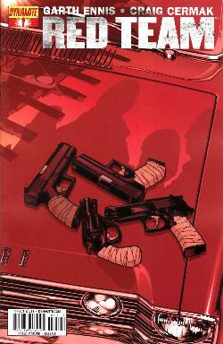 Garth Ennis Red Team #1 Sook Cover [Comic] LARGE