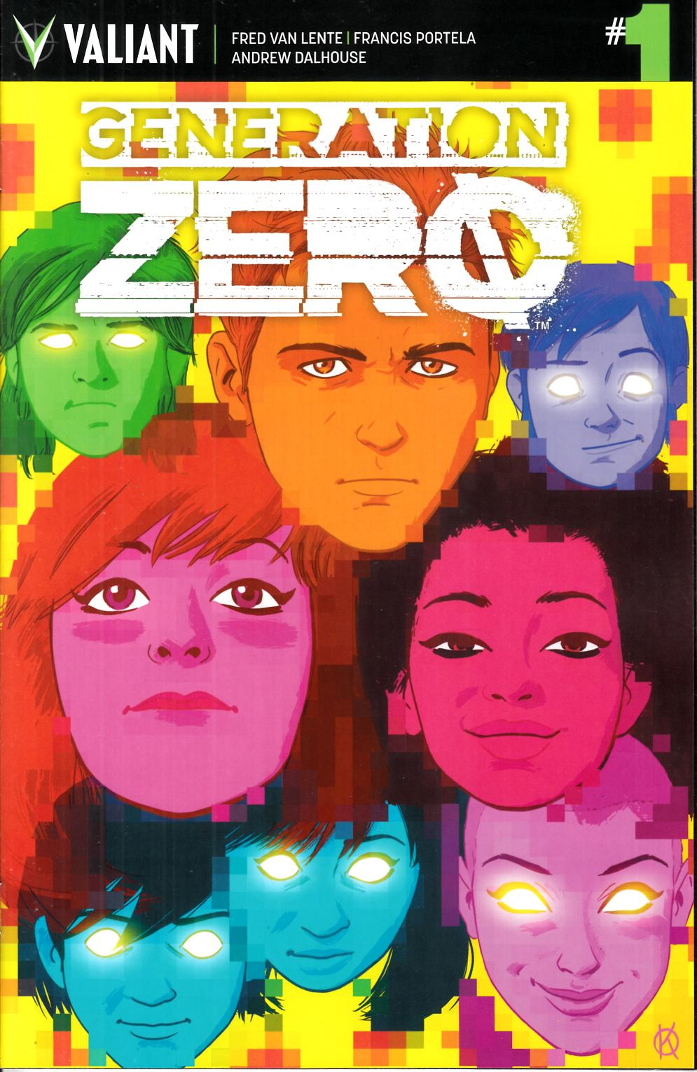 Generation Zero #1 Cover F- Kano Incentive [Valiant Comic] THUMBNAIL