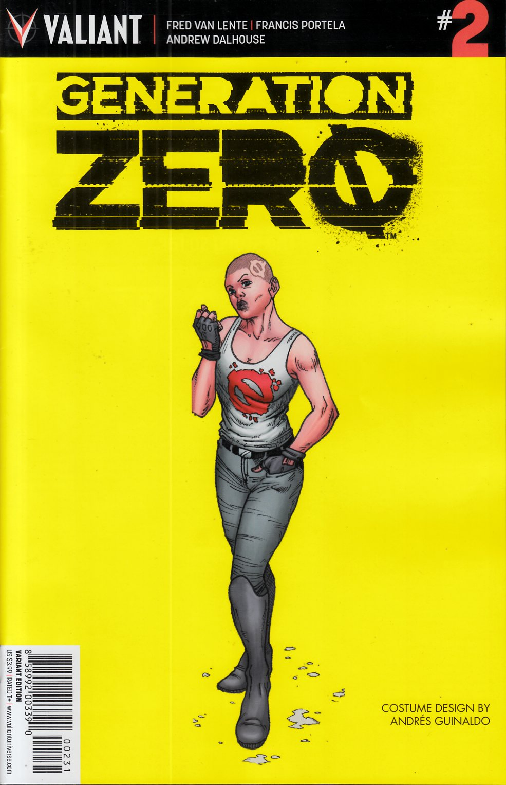 Generation Zero #2 Cover C- Character Design Incentive [Valiant Comic] THUMBNAIL