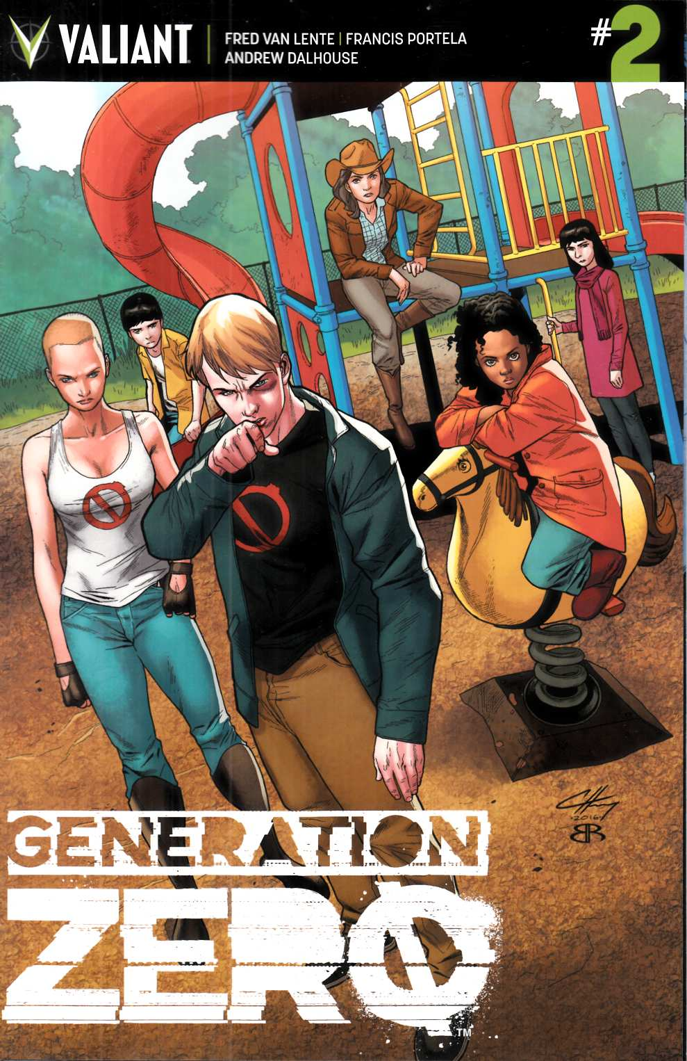 Generation Zero #2 Cover D- Henry Incentive [Valiant Comic]_THUMBNAIL