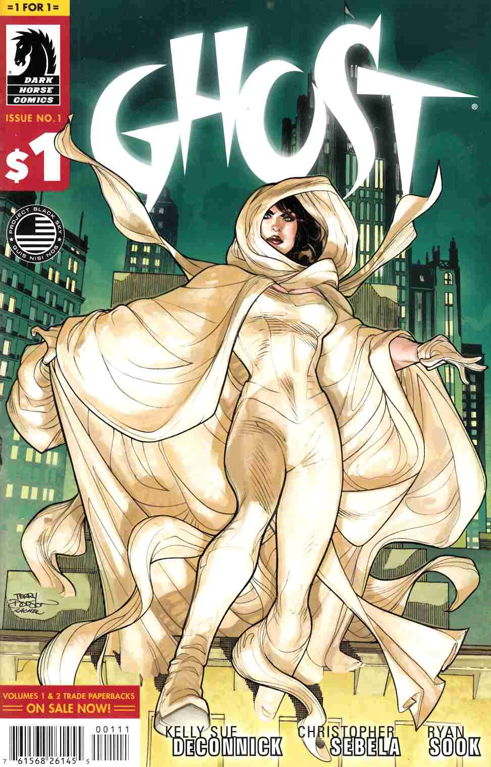 Ghost #1 1 for $1 Edition [Dark Horse Comic] THUMBNAIL