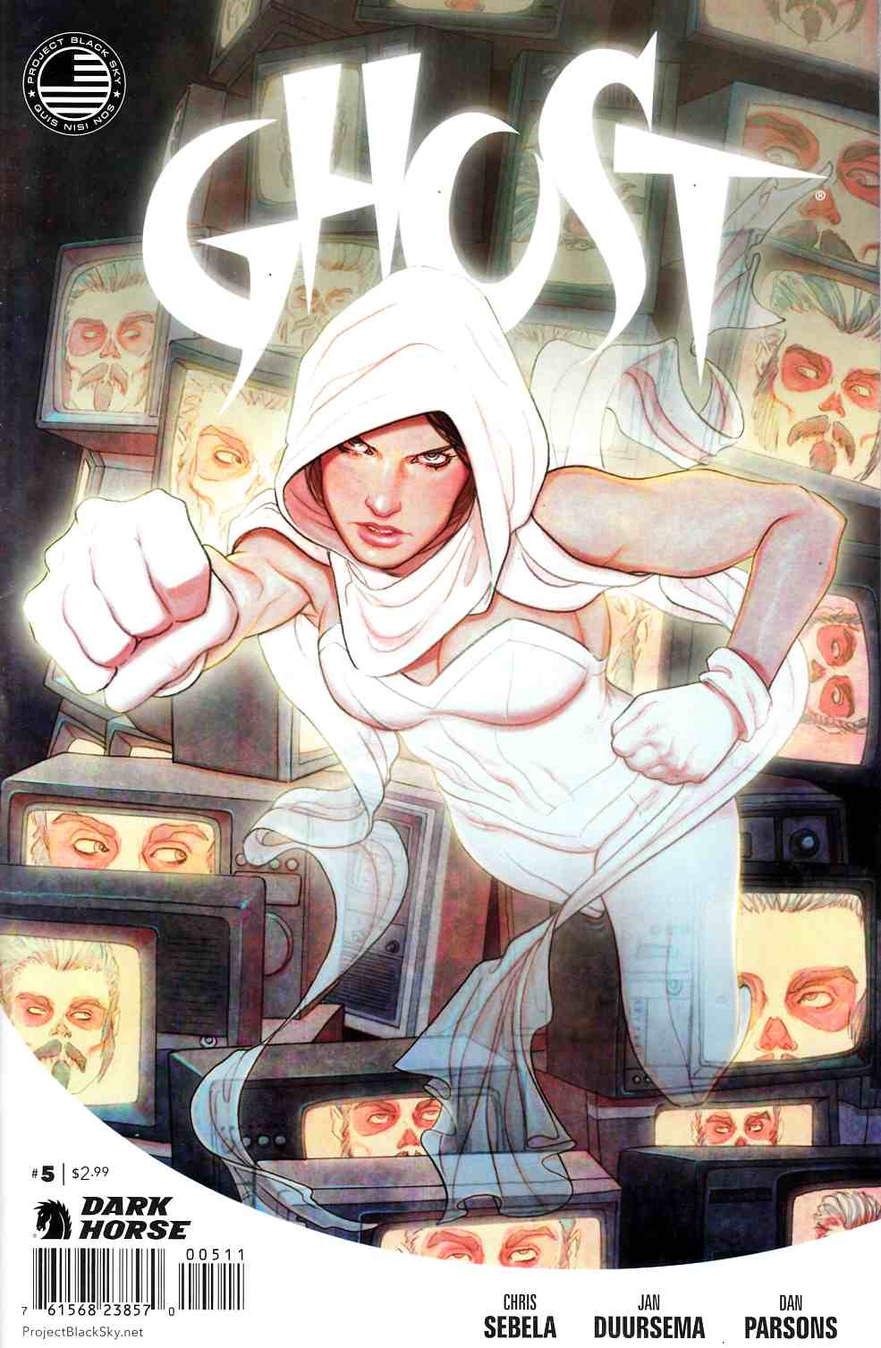 Ghost #5 [Dark Horse Comic] THUMBNAIL