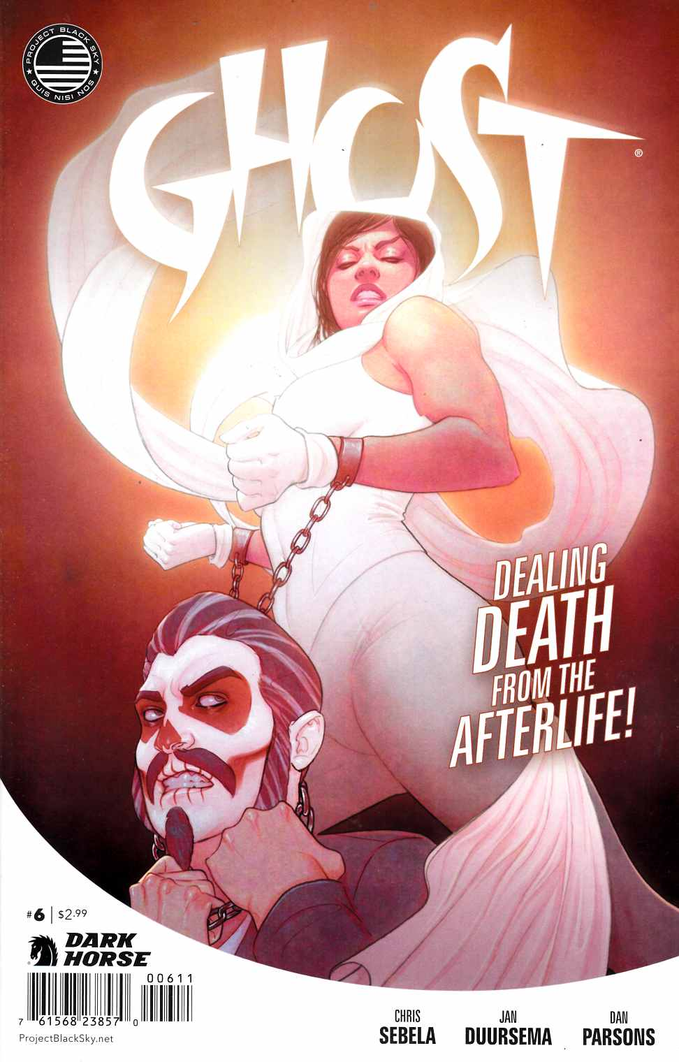 Ghost #6 [Dark Horse Comic] THUMBNAIL