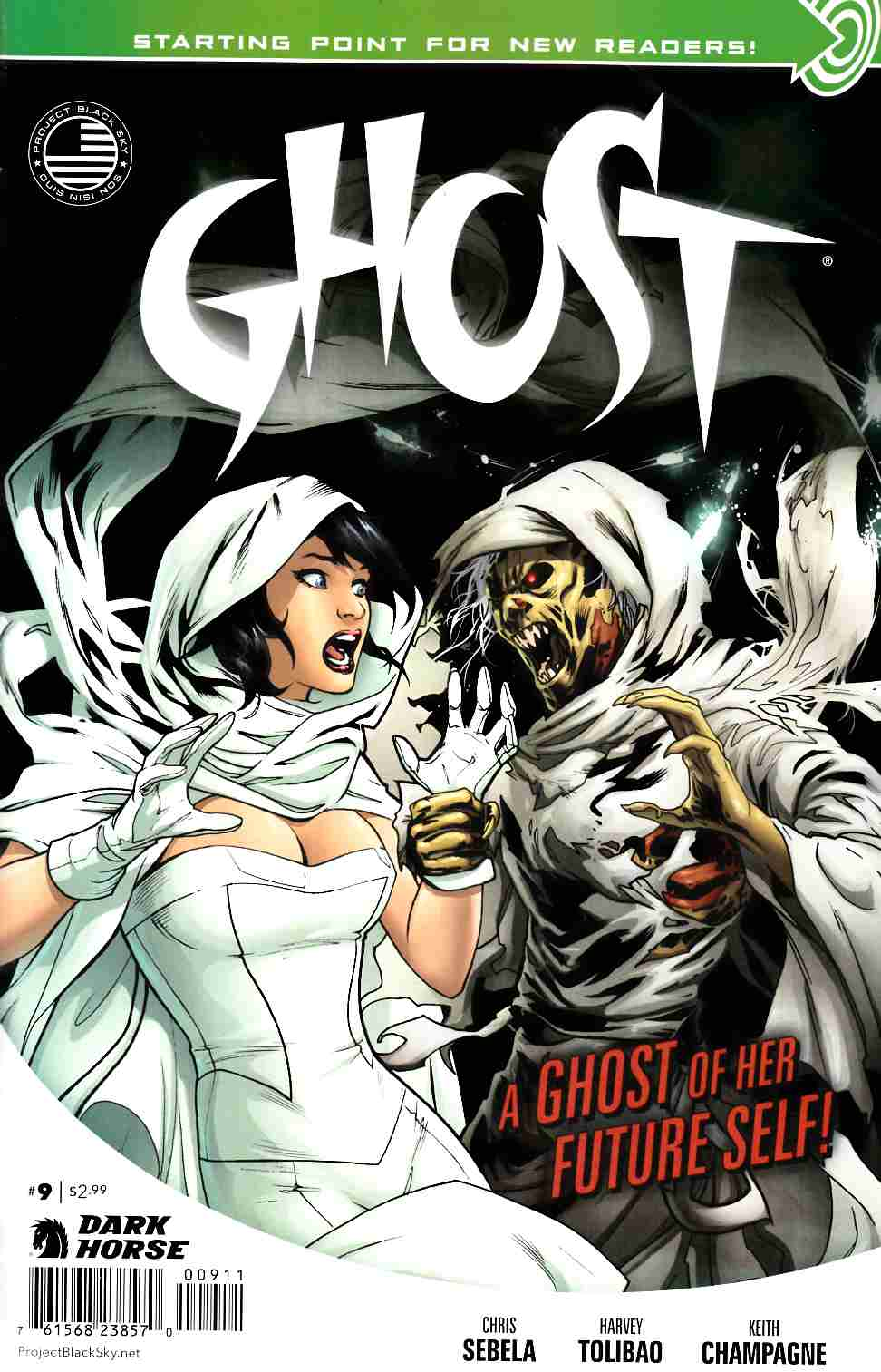 Ghost #9 [Dark Horse Comic] THUMBNAIL