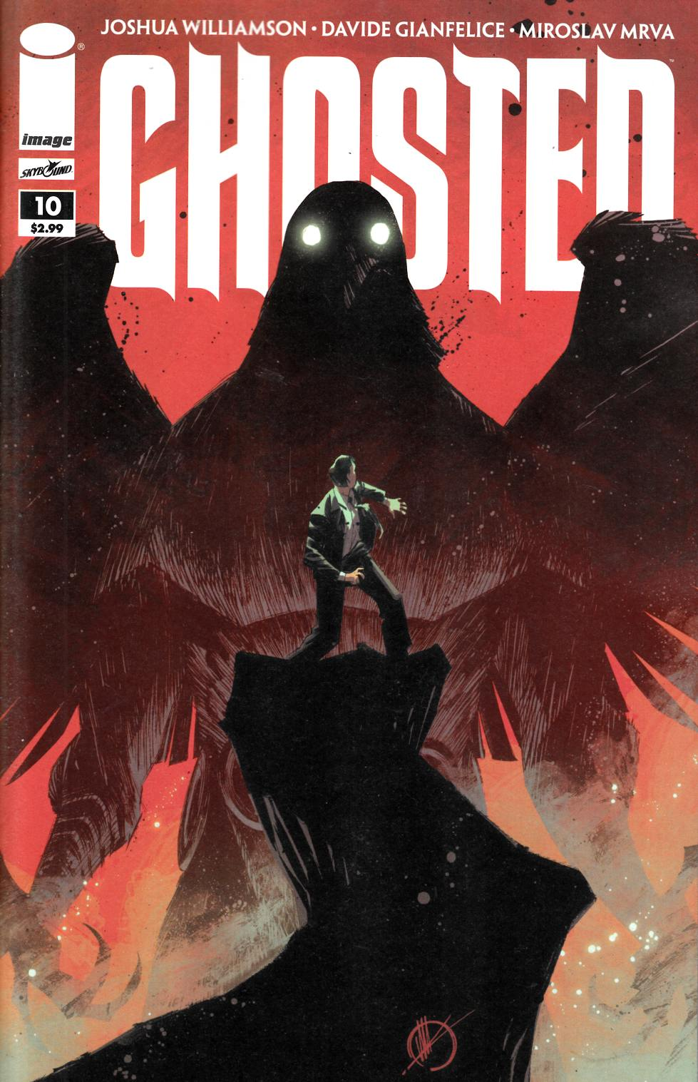 Ghosted #10 [Image Comic] THUMBNAIL