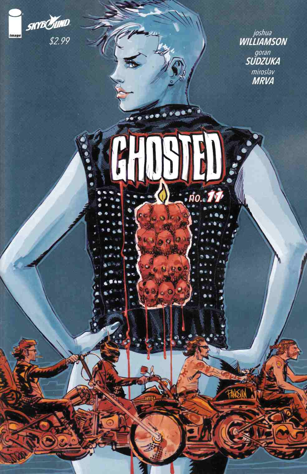 Ghosted #11 [Image Comic] THUMBNAIL