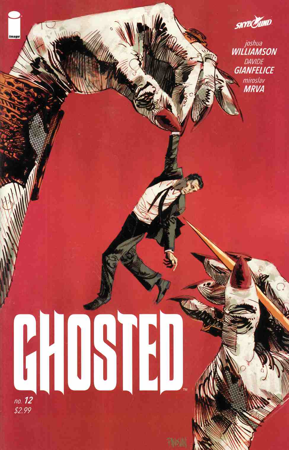 Ghosted #12 [Image Comic] THUMBNAIL
