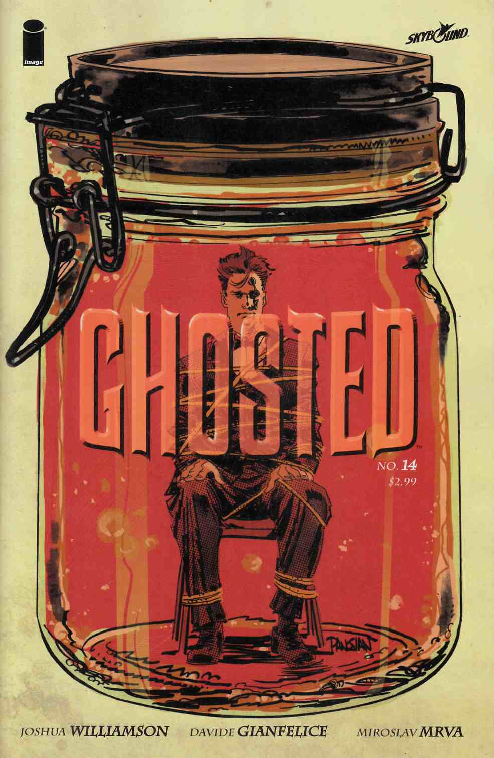 Ghosted #14 [Image Comic] THUMBNAIL