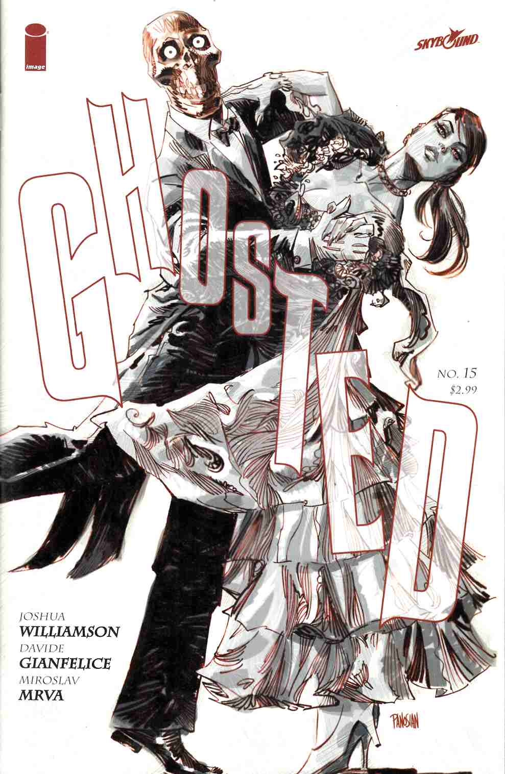 Ghosted #15 [Image Comic] THUMBNAIL