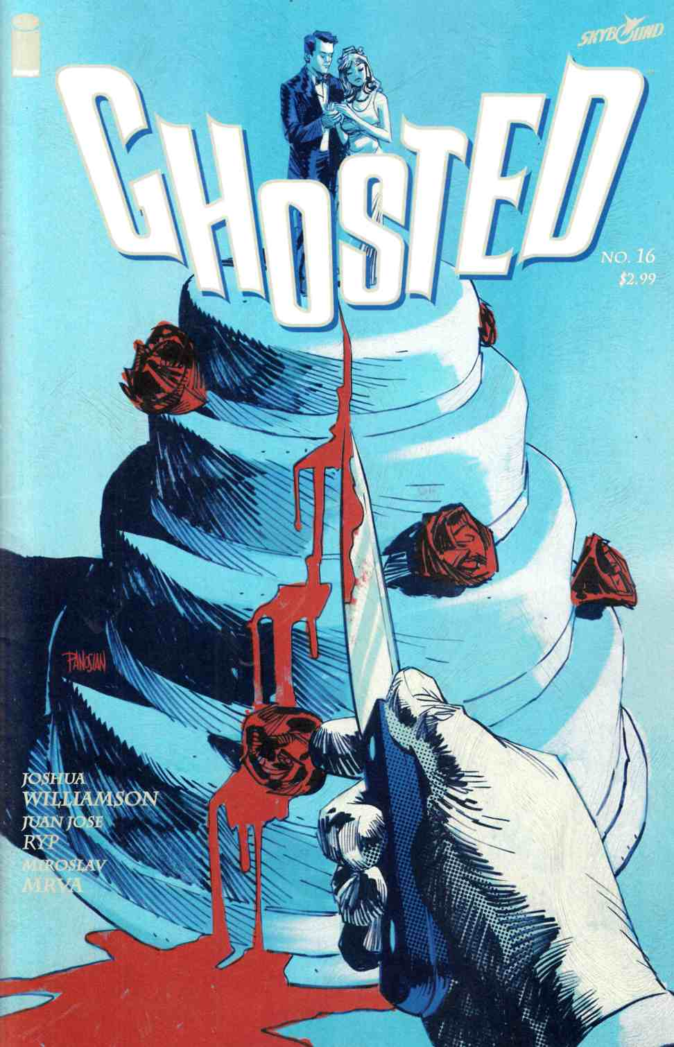 Ghosted #16 [Image Comic] THUMBNAIL