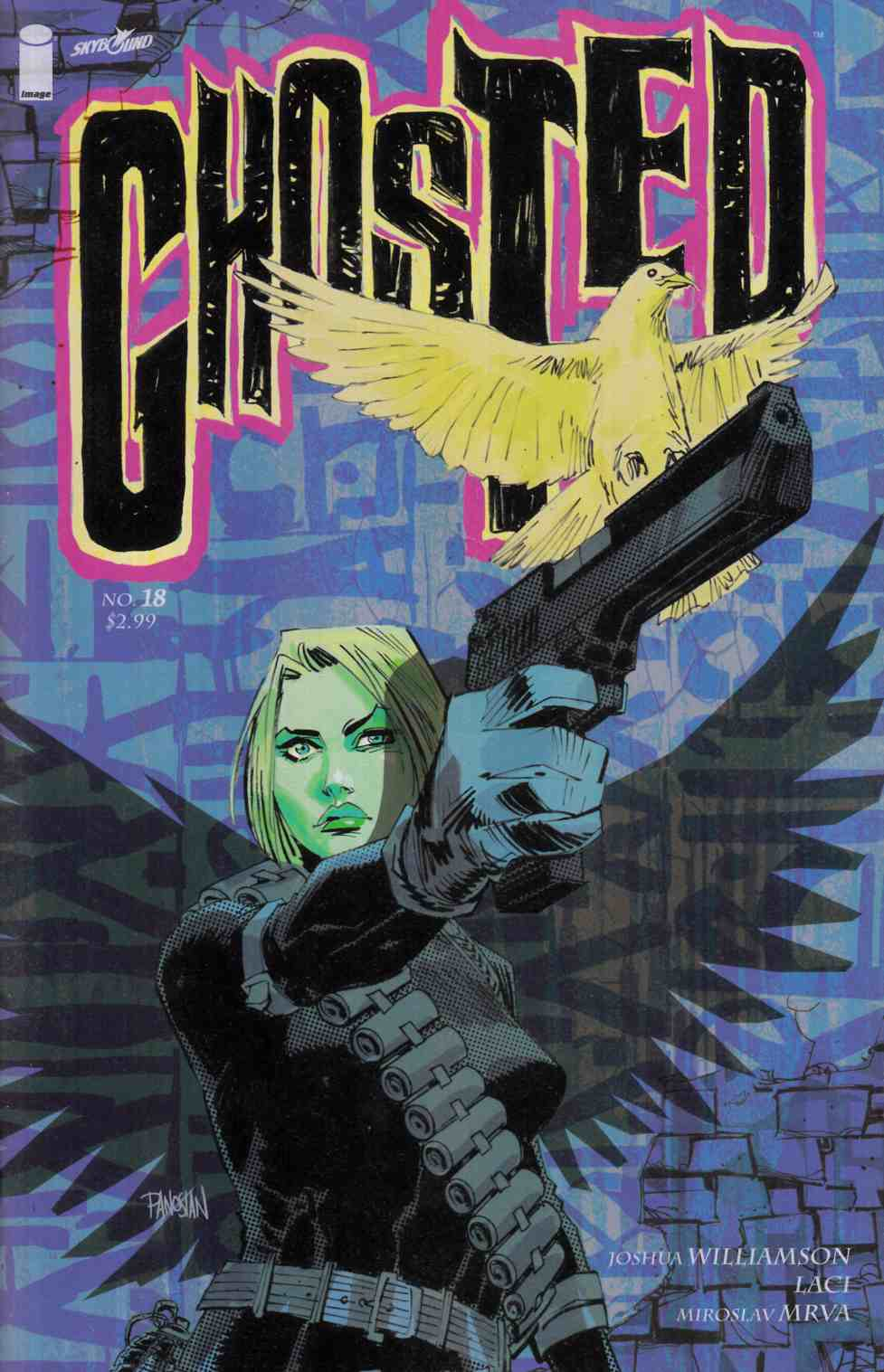 Ghosted #18 [Image Comic] THUMBNAIL