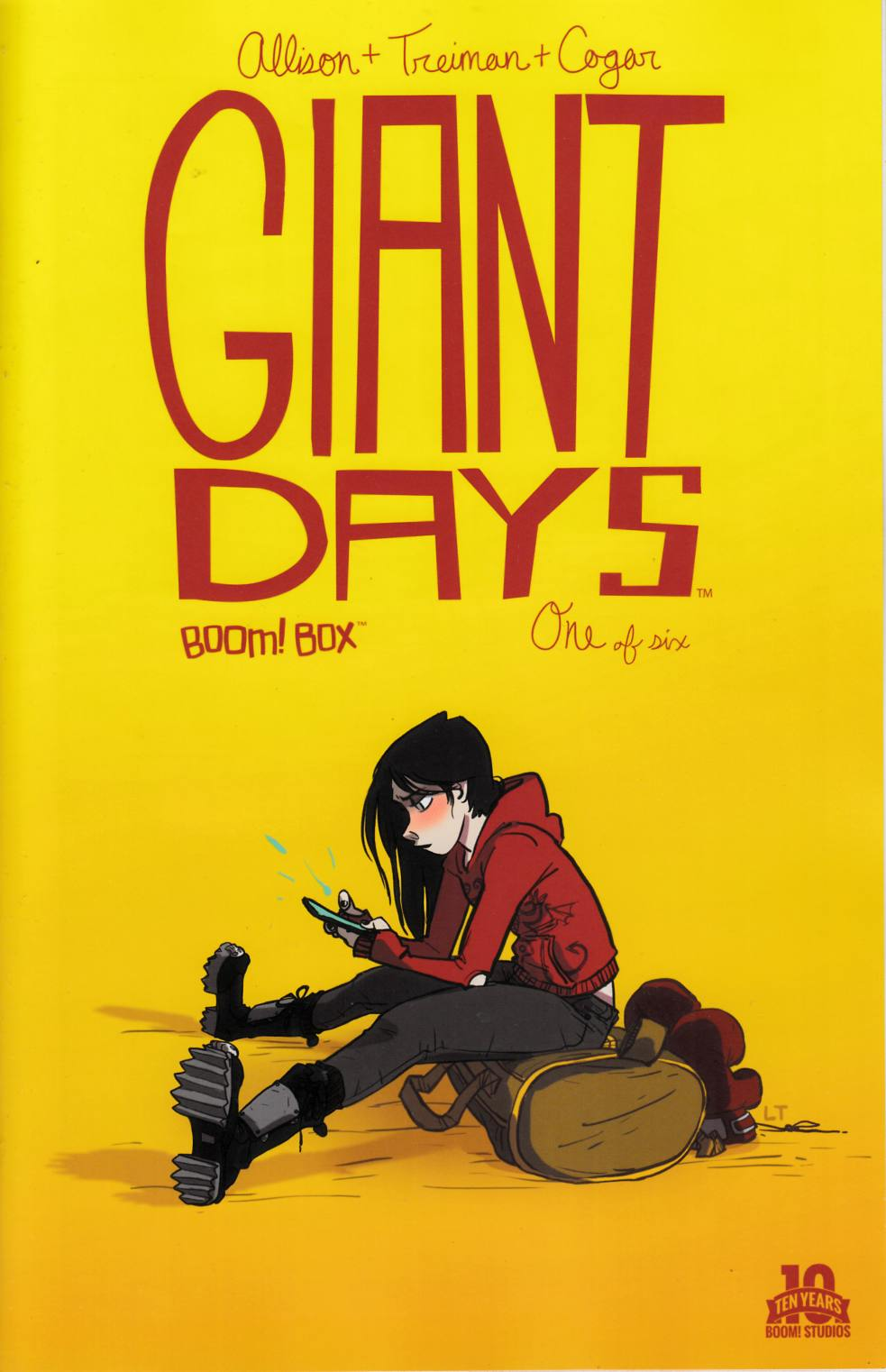 Giant Days #1 [Boom Comic]