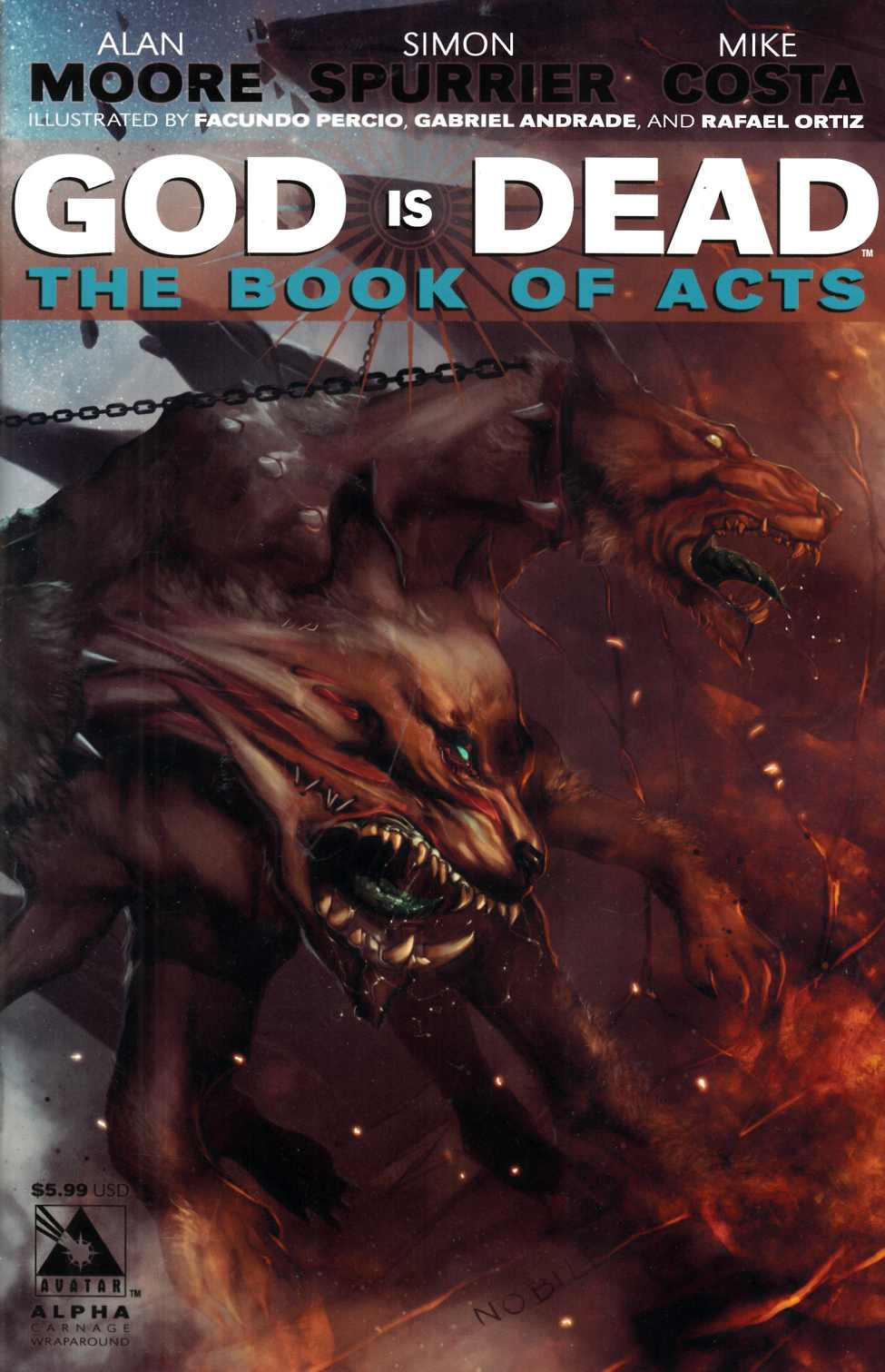 God Is Dead Book of Acts Alpha (One Shot) [Avatar Comic] LARGE