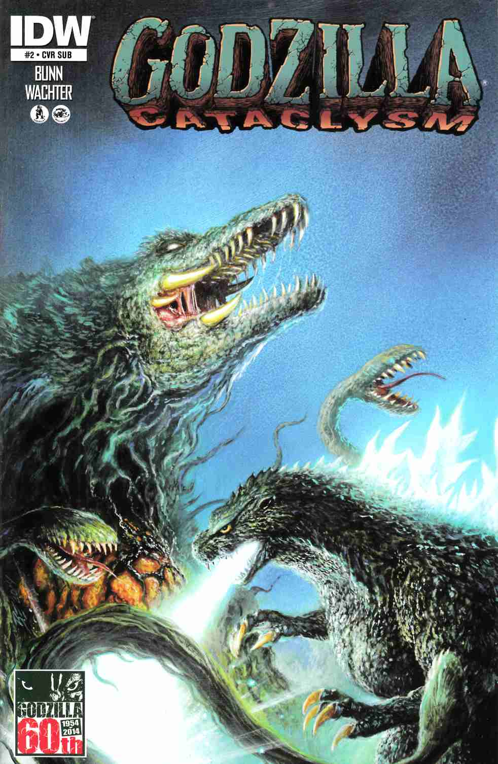 Godzilla Cataclysm #2 Subscription Cover [Comic] THUMBNAIL
