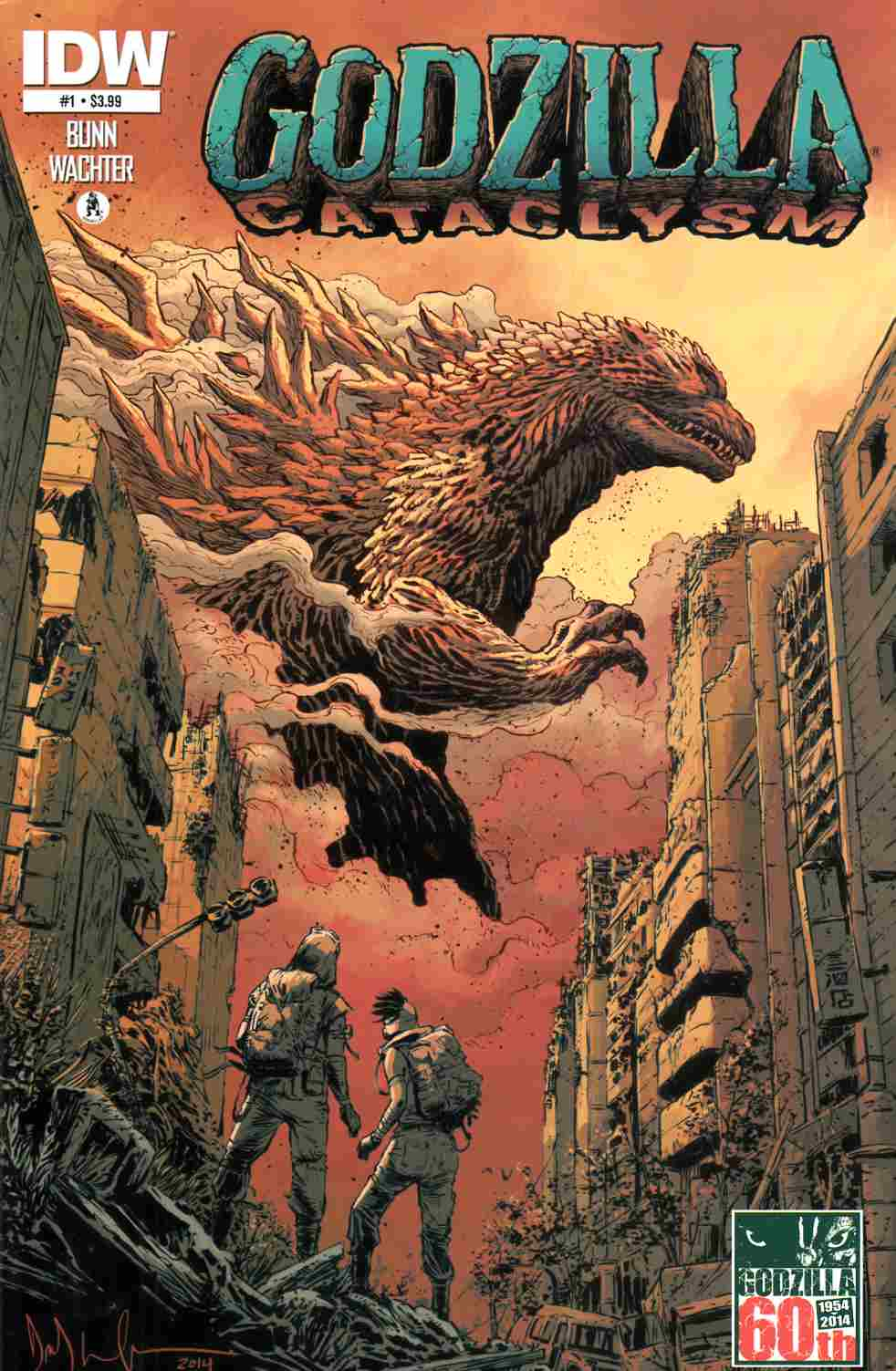 Godzilla Cataclysm #1 [IDW Comic] THUMBNAIL