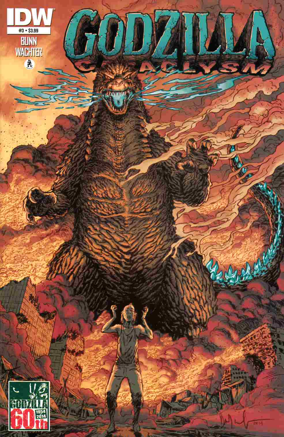 Godzilla Cataclysm #3 [IDW Comic] THUMBNAIL