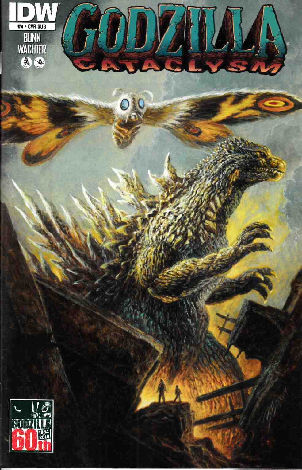 Godzilla Cataclysm #4 Subscription Cover [IDW Comic] THUMBNAIL