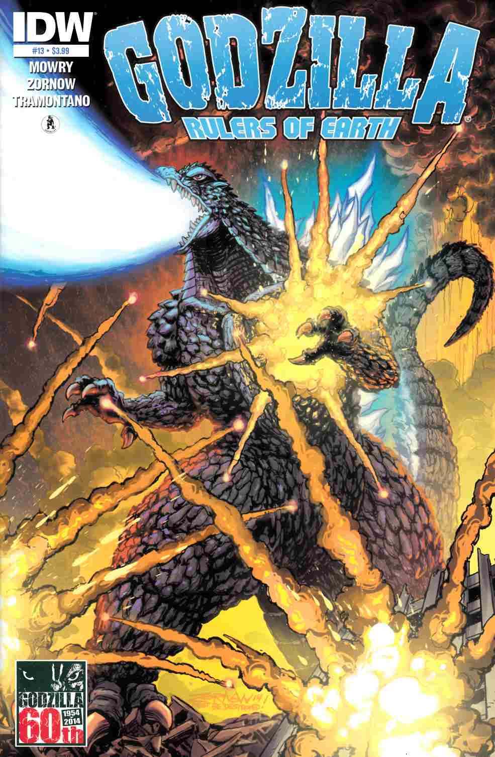 Godzilla Rulers of the Earth #13 [IDW Comic]