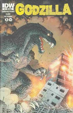 Godzilla Ongoing #1 Cover RIB- Adams Wraparound Incentive [Comic] LARGE