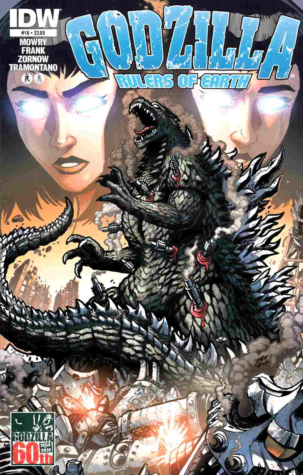 Godzilla Rulers of the Earth #16 [IDW Comic]