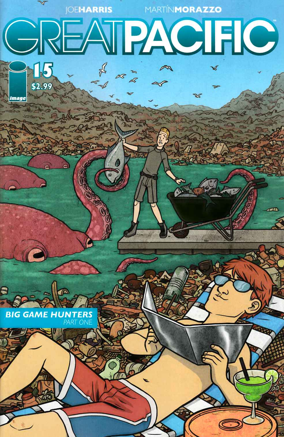 Great Pacific #15 Cover B- Rolston [Comic]_LARGE