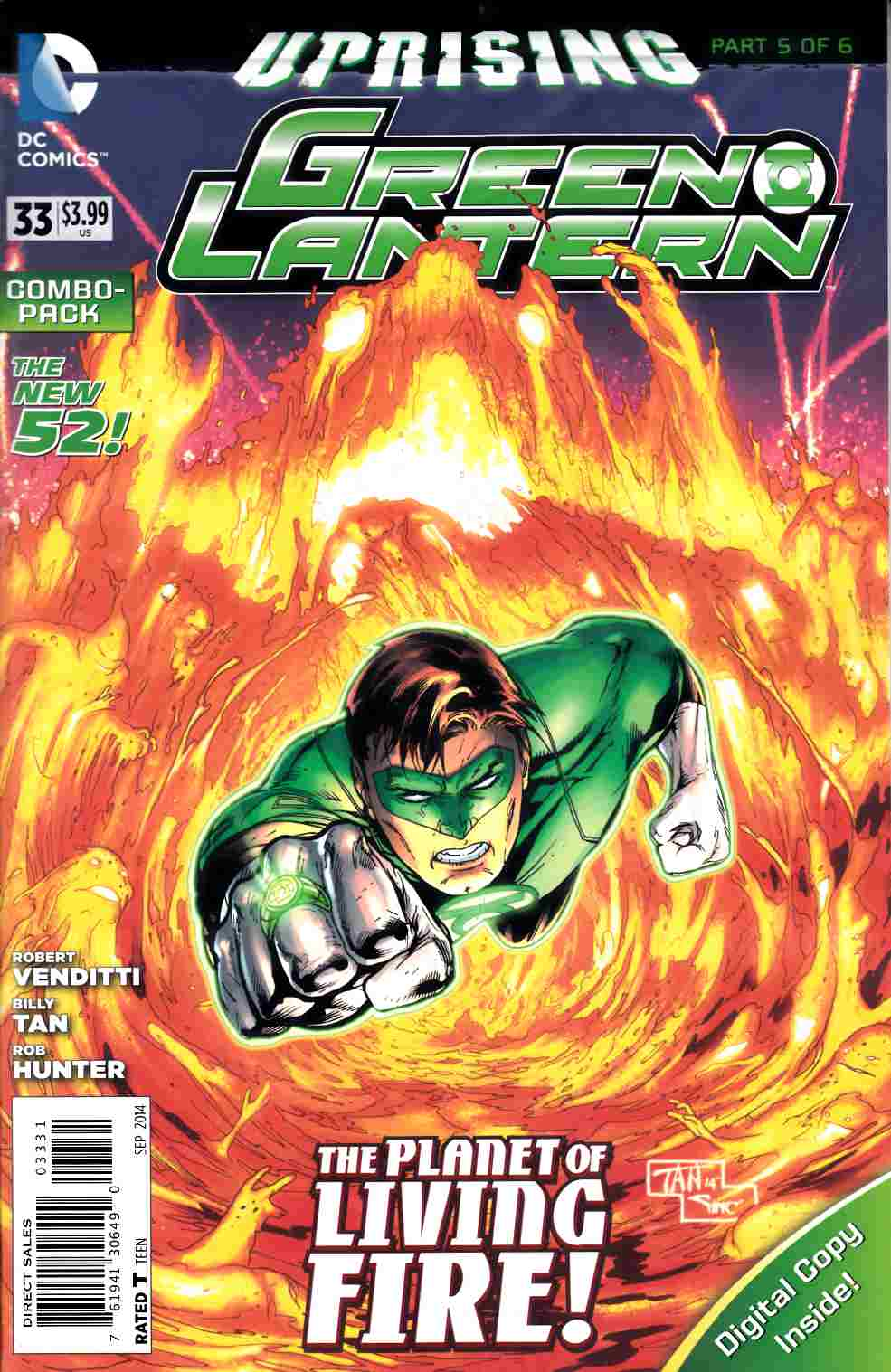 Green Lantern #33 Combo Pack [DC Comic] LARGE