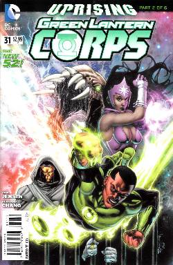 Green Lantern Corps #31 (Uprising) [Comic] LARGE