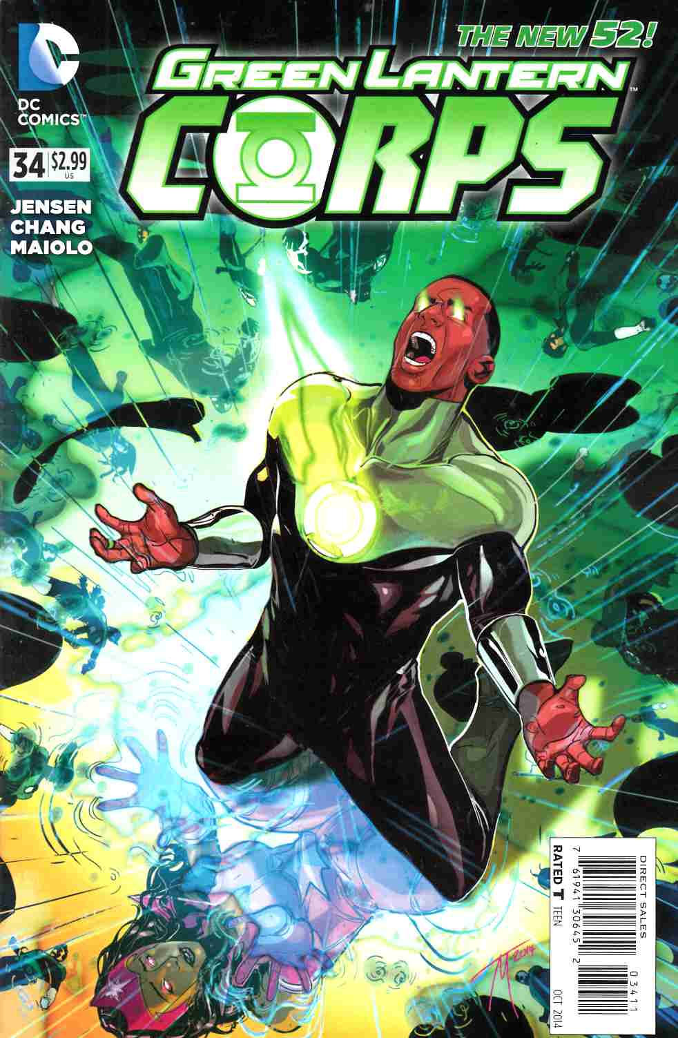 Green Lantern Corps #34 [Comic] LARGE