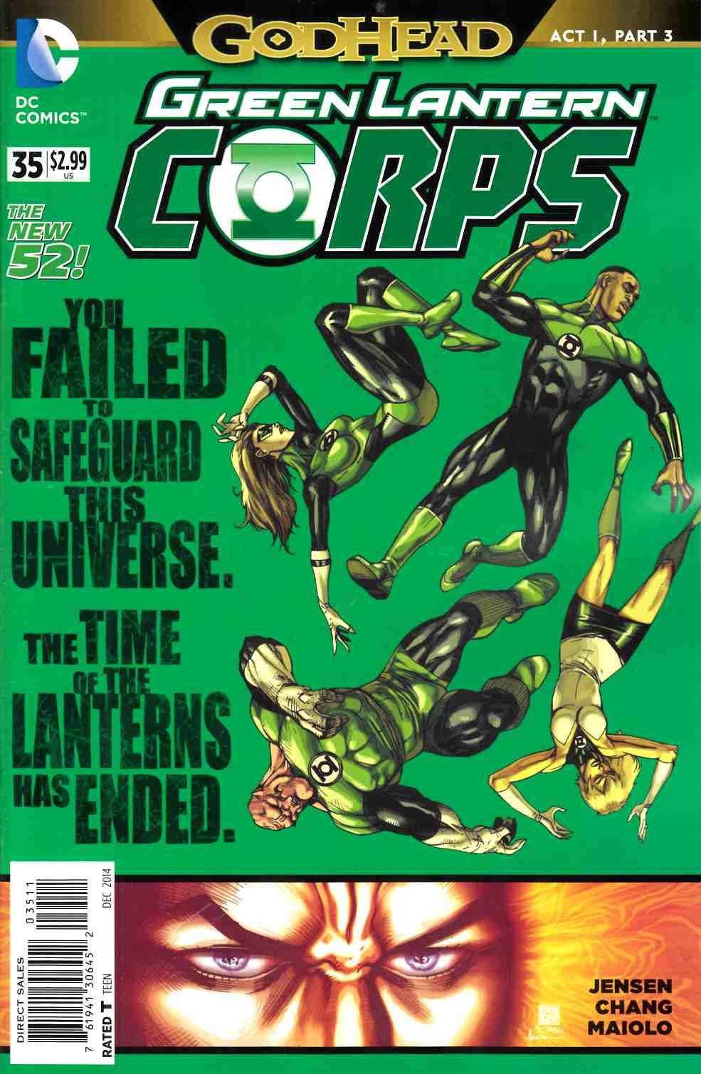 Green Lantern Corps #35 (Godhead) [DC Comic]