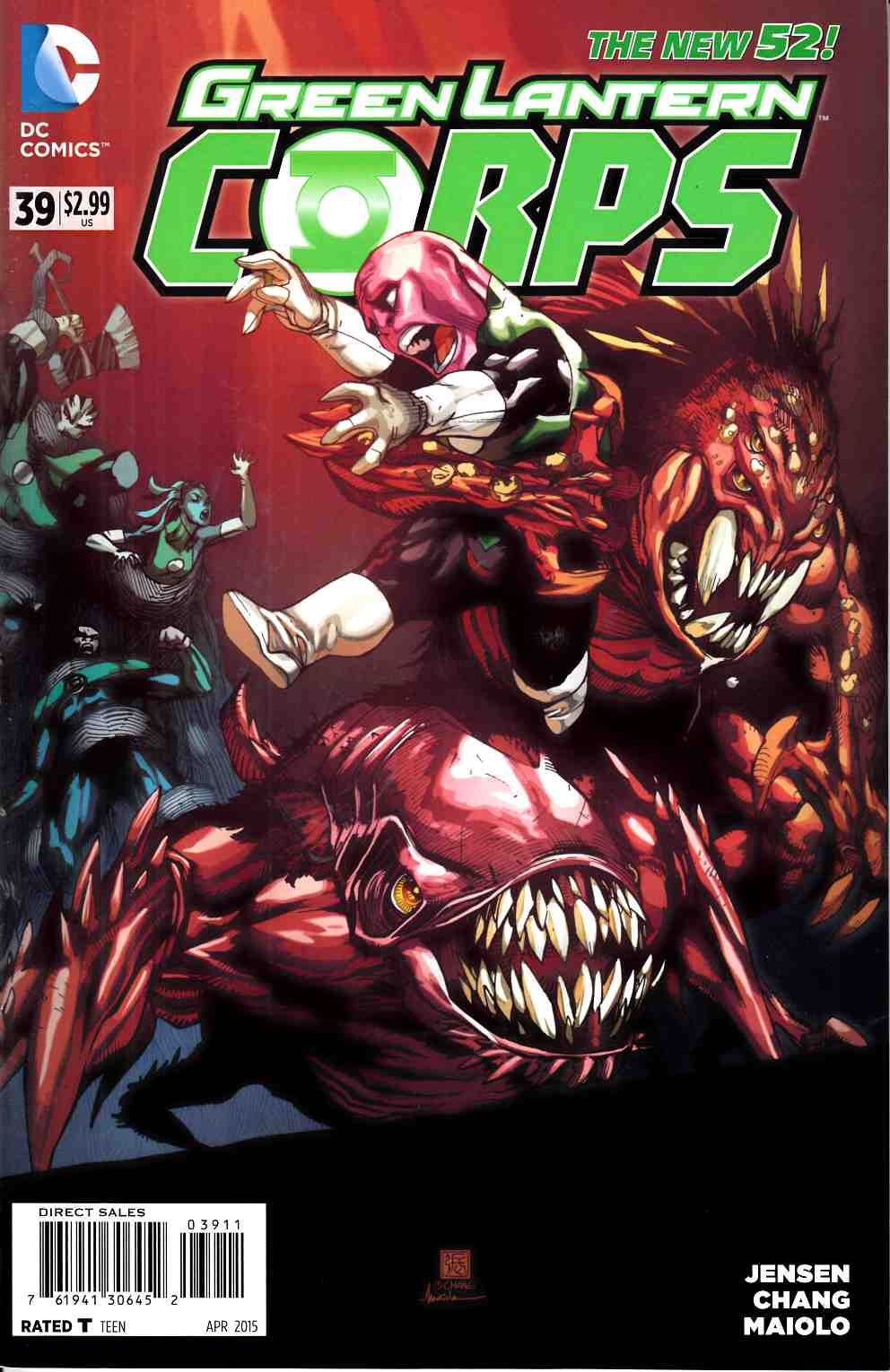Green Lantern Corps #39 Very Fine (8.0) [DC Comic]_THUMBNAIL