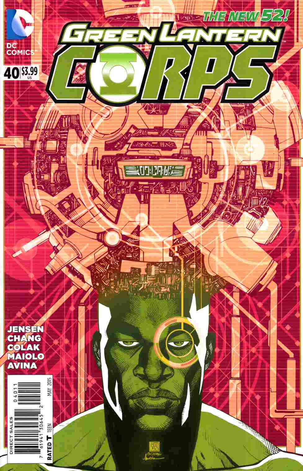 Green Lantern Corps #40 Very Fine (8.0) [DC Comic]_THUMBNAIL