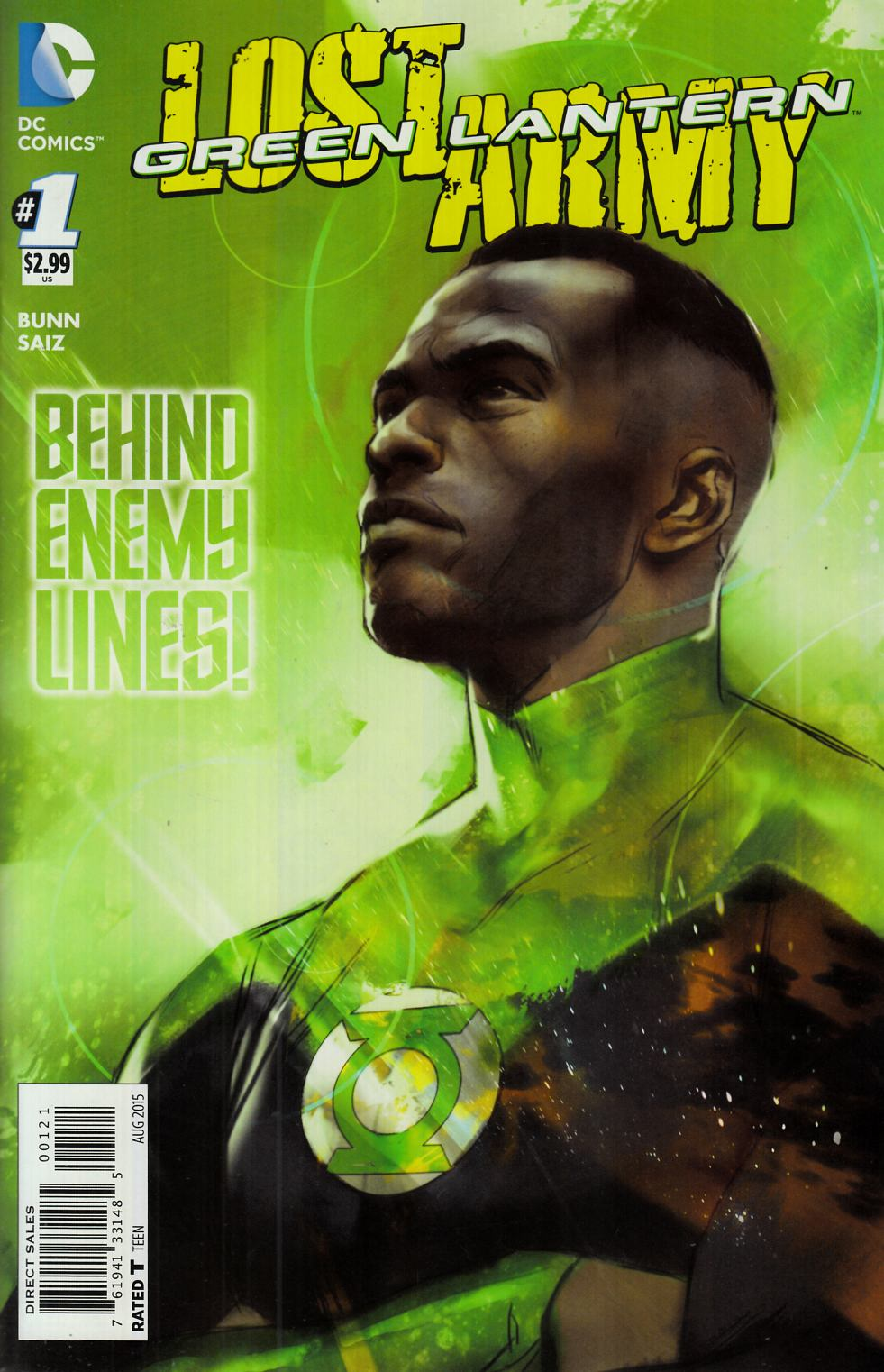 Green Lantern the Lost Army #1 Oliver Variant Cover [DC Comic]_THUMBNAIL