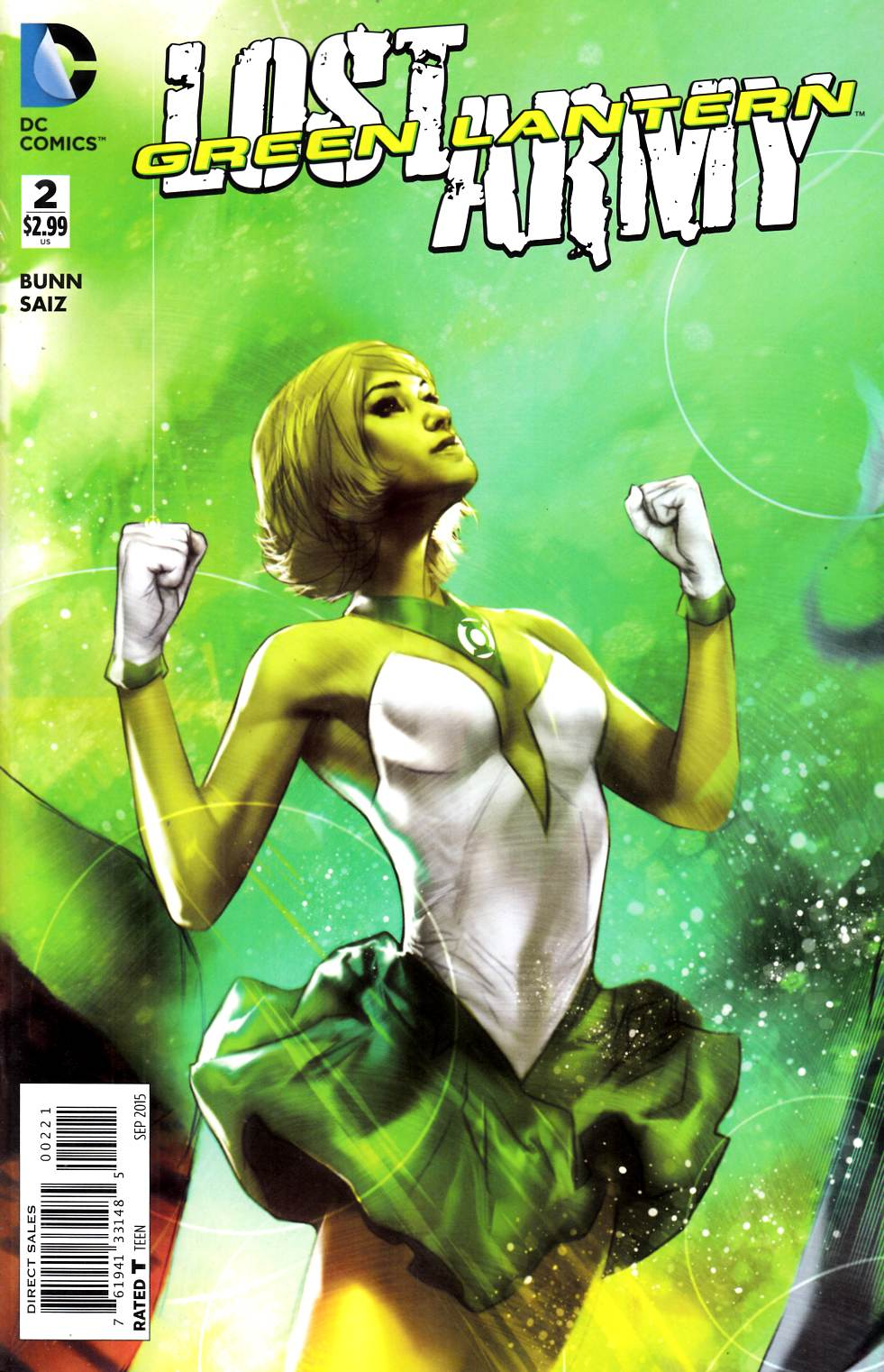 Green Lantern the Lost Army #2 Oliver Variant Cover [DC Comic]_THUMBNAIL