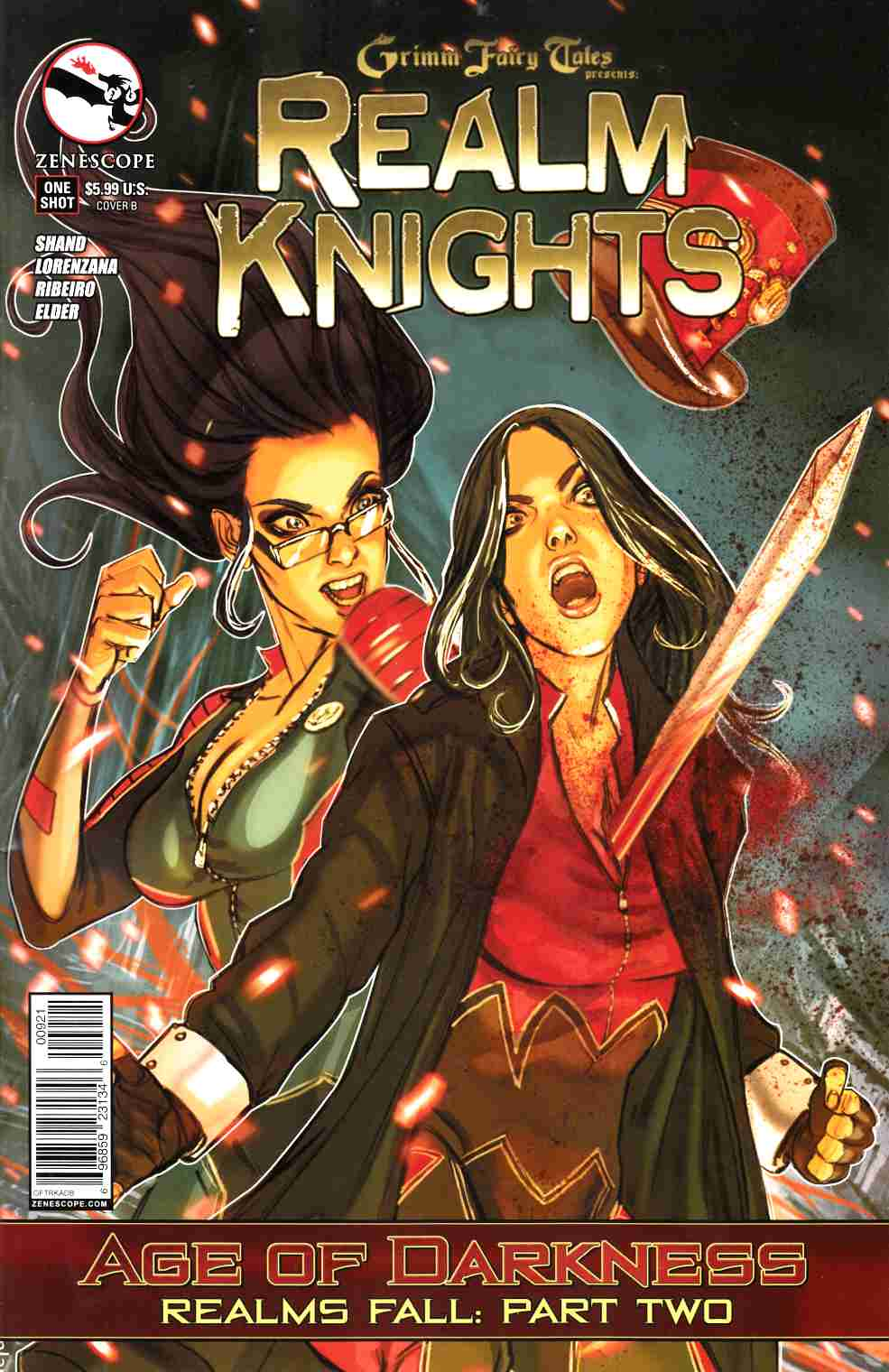Realm Knights Age of Darkness (One Shot) Cover B- Lam [Zenescope Comic] LARGE