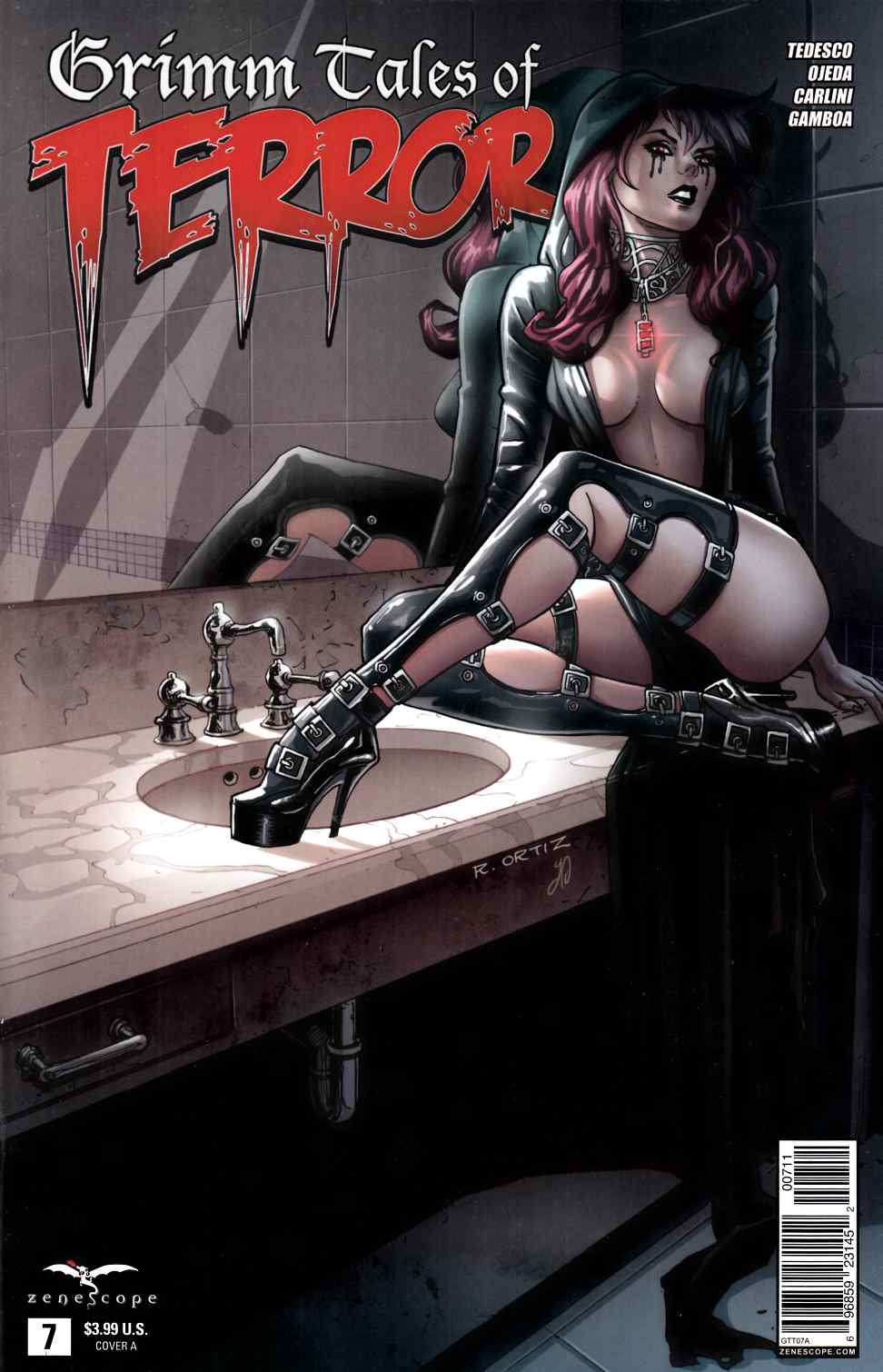 Tales of Terror #7 Cover A- Ortiz [Zenescope Comic] THUMBNAIL