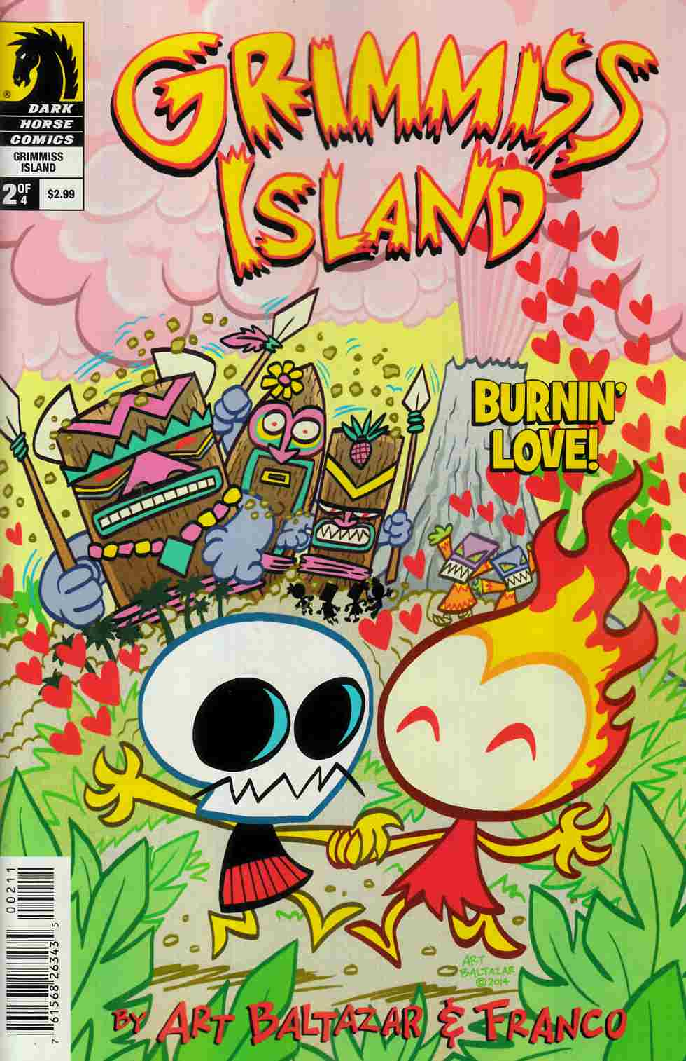 Itty Bitty Comics Grimmiss Island #2 [Dark Horse Comic] THUMBNAIL