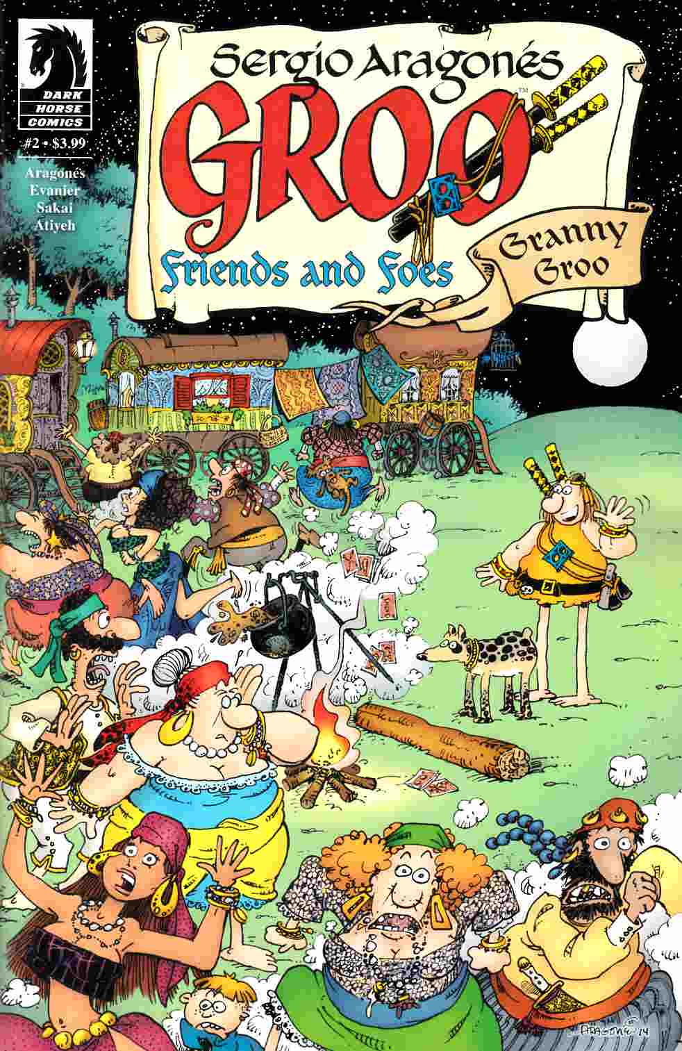 Groo Friends and Foes #2 [Dark Horse Comic]