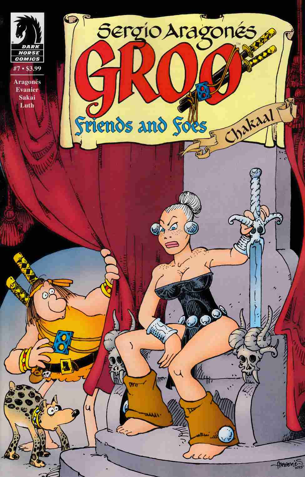 Groo Friends and Foes #7 [Dark Horse Comic]