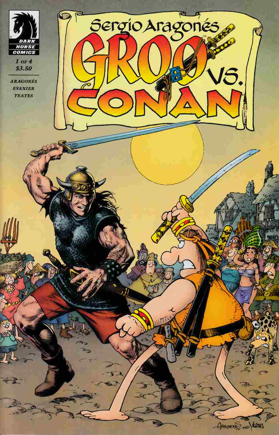 Groo vs Conan #1 [Comic] LARGE